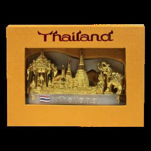 ของที่ระลึกไทยที่เสียบปากกาพร้อมใส่นามบัตรรูปช้าง